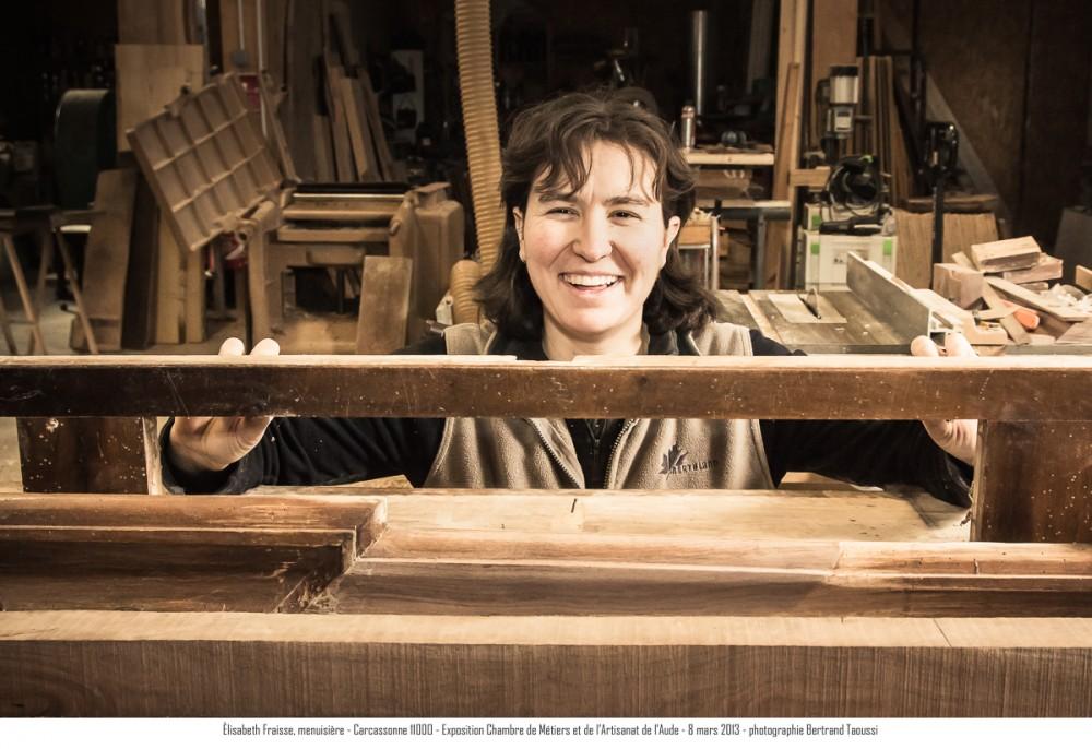 Métier du bois : menuiserie Elisabeth Fraisse - Carcassonne